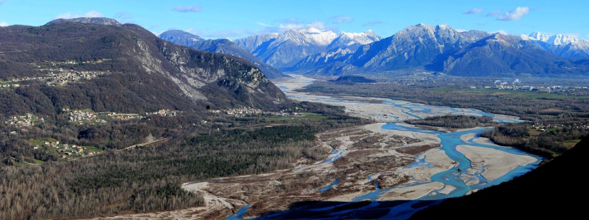 Il Tagliamento, re dei fiumi alpini